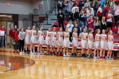 Girls Varsity Basketball - 3/2/2020 Newaygo (District 1)