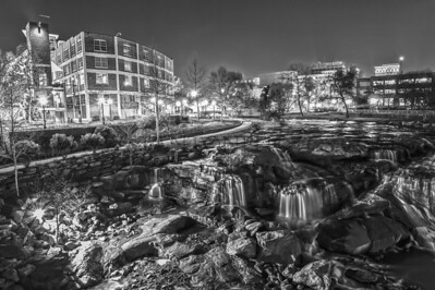 Greenville in Black and White