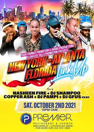 NEW YORK ATLANTA FLORIDA LINK UP