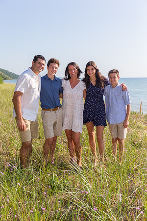 Arcadia Bluffs and Pierport family photography Northern Michigan