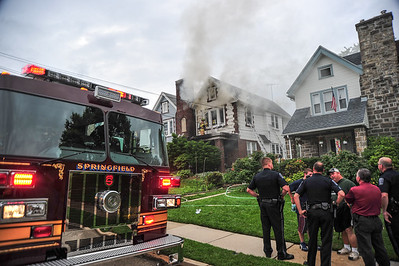 Building Fire w/entrapment- Springfield Twp.