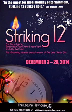 """Striking 12"" at the Laguna Playhouse/Dec. 3-28,  2014"
