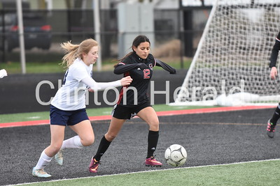 Northeast at Clinton girls soccer 4.12.19