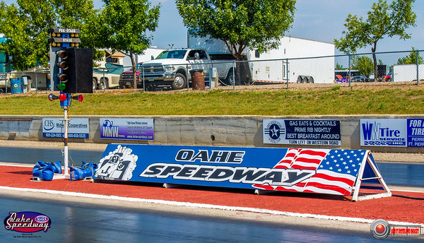 2018 - Oahe Speedway On Track - September 01, 2018