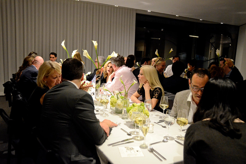 Atmosphere AVENUE MAGAZINE Presents an Insider Dinner and Preview of the Late Architect Zaha Hadid's Final Luxury Condo Complex Over the High Line 520 West 28th Street   NYC, USA - 2017.04.27 Credit: Lukas Greyson