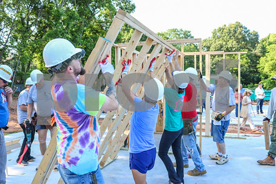 6/23/18 Habitat For Humanity House Development by Schuyler Wick