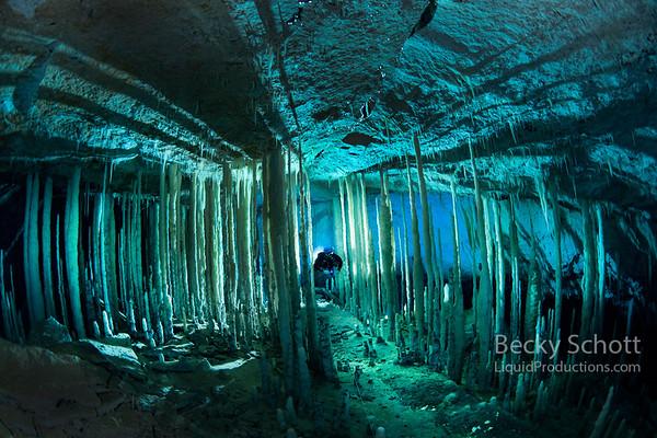 Crystal Caves Abaco Bahamas