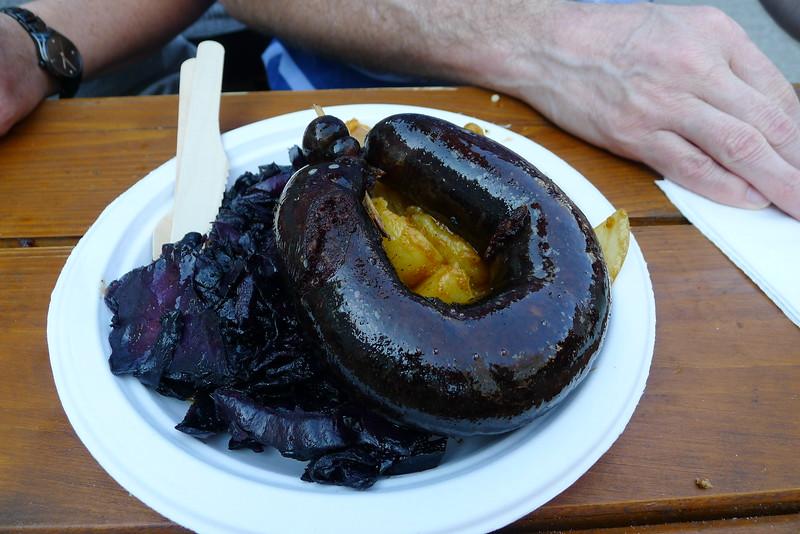 Dave Ross's Black Sausage!