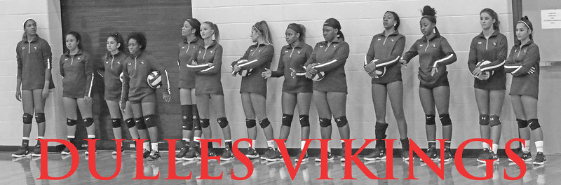 Dulles Varsity volleyball 2018