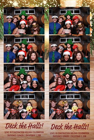 Level 10 Construction Holiday Party 2018