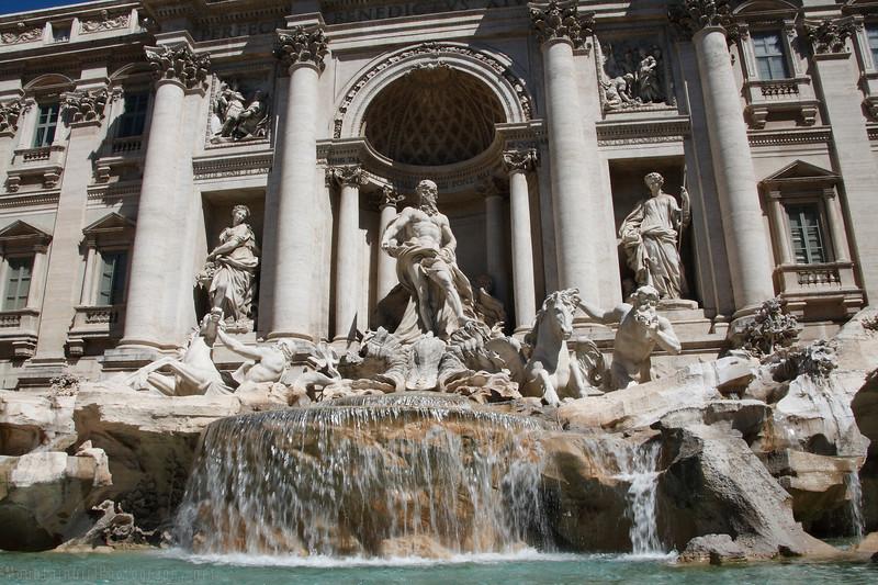 Trevi Fountain (Nicola Salvi, 1732-62)