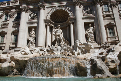 Trevi Fountain (Nicola Salvi, 1732-62)