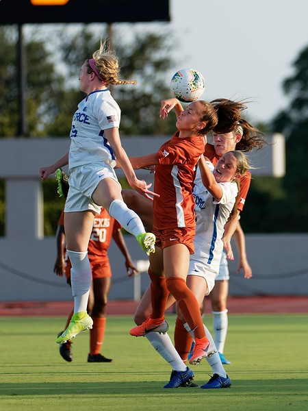 University of Texas Soccer vs. Air Force 8.16.2019