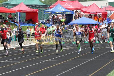 D3 Boys 100M Finals - 2013 MHSAA LP Track and Field Finals