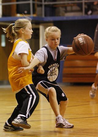 SN Girls Little Rebel Basketball 2008