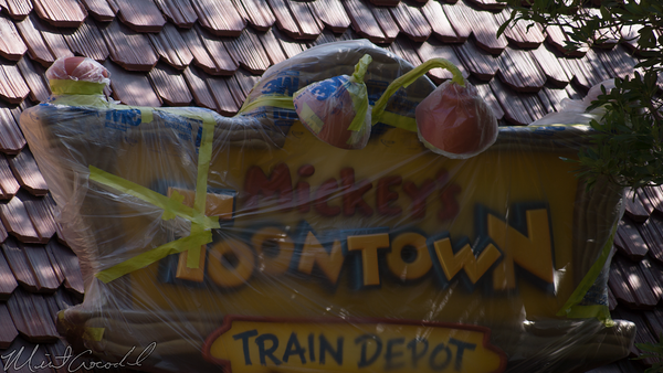Disneyland Resort, Disneyland, Fantasyland, Mickey, ToonTown, Toon, Town, Railroad, Train, Depot, Station