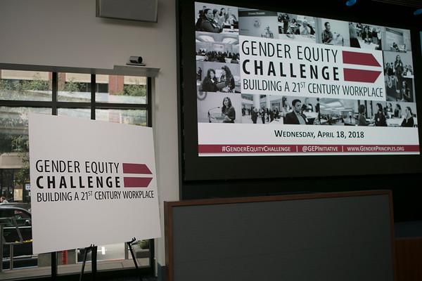 2018 Gender Equity Challenge Forum