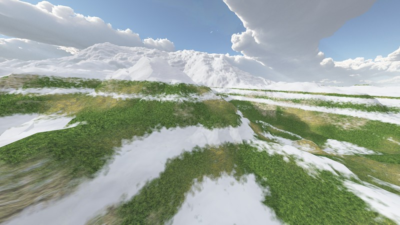Ice Mountain 7 : A Computer Generated Image from Daily Animation