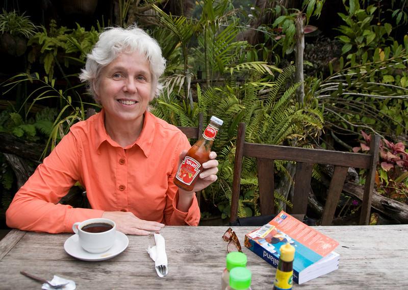 Ketchup at Jungle Rafts