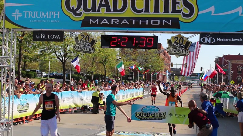 Quad Cities Marathon Men's Winner