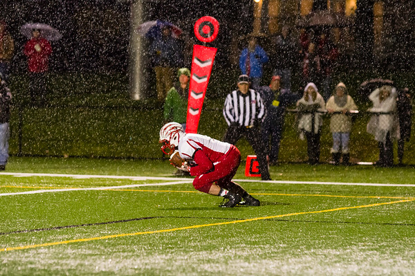 Hoosac Valley vs. Lee Football, Western Mass. Championship - 110918