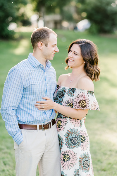 Alicia and Peter's Engagement at Fort Hunter