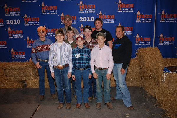 Houston Livestock Judging 031710