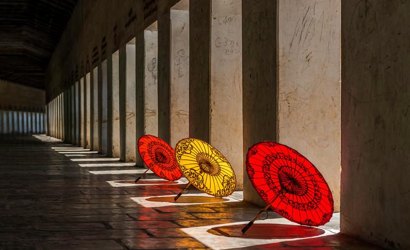 Myanmar Parasols