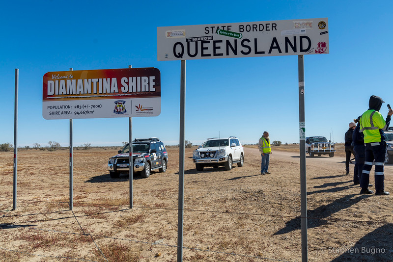 crossing the border frm Queensland to South Australia