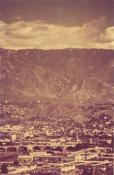 San Gabriel Mountains View