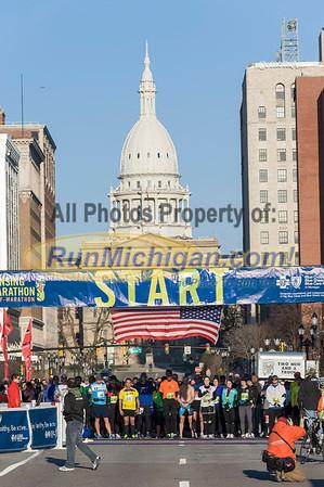Start, Gallery 1 - 2013 Lansing Marathon