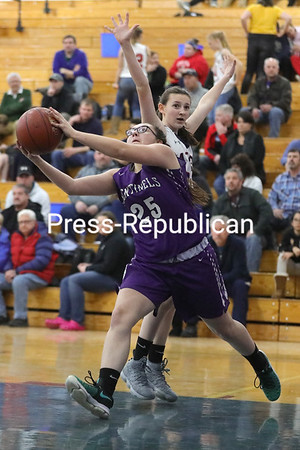 Girls Basketball — AuSable Valley vs. Ticonderoga