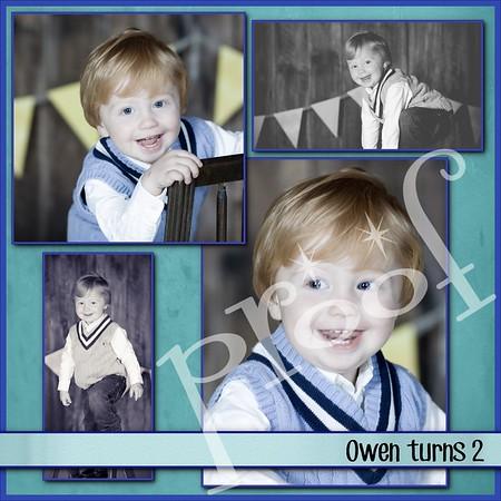 Owen mayer turns 2