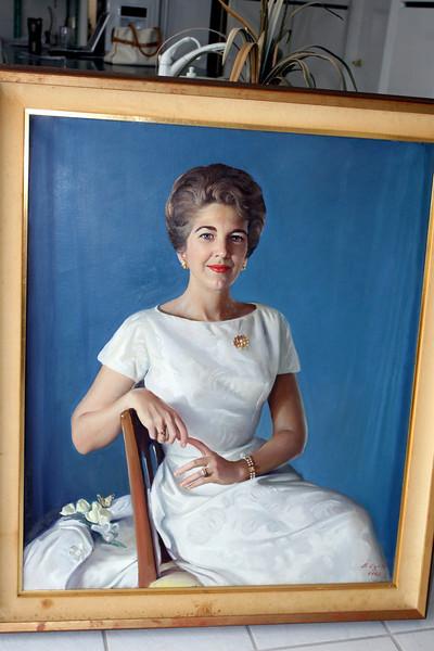 Mom's Portrait by Mr. Egeli