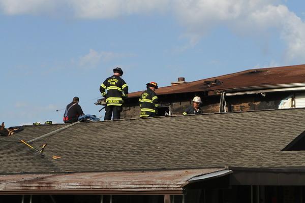 Melrose Park Fire Dept Box Alarm House Fire