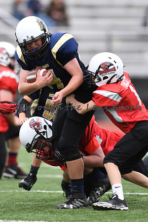 West Albany vs. South Albany Pop Warner Unlimited
