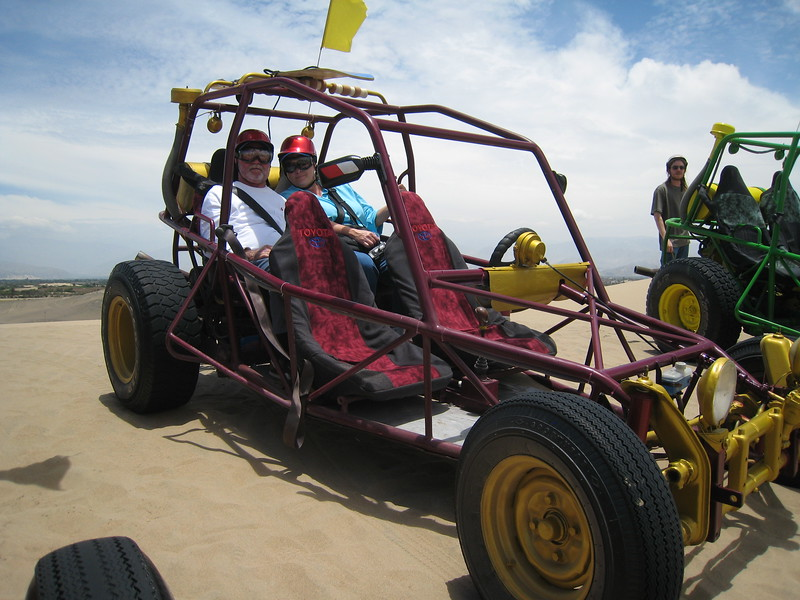 Dune buggy adventure, Pisco, Peru