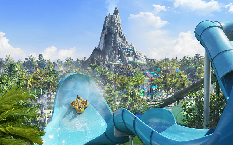 Explore upcoming features of new VOLCANO BAY water theme park!