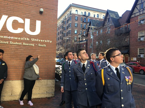 """Cadets Take """"College Road Trip"""" to Virginia Commonwealth University"""