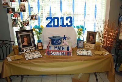 Courtni's graduation party 2013