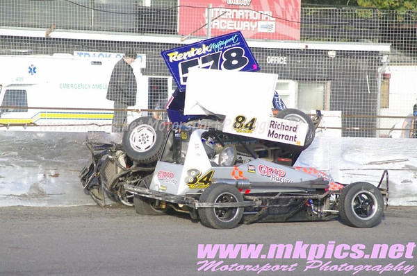 BriSCA F2, Northampton 19 October 2014
