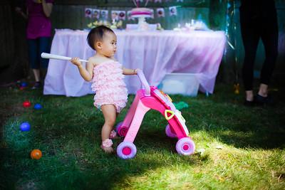 Skylar 1st birthday party