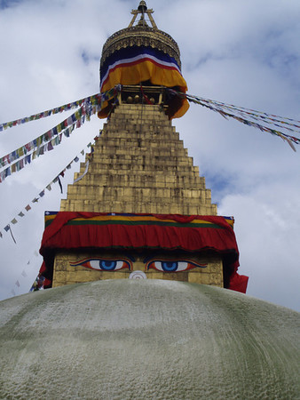 Swayambhunath and Bouddhanath