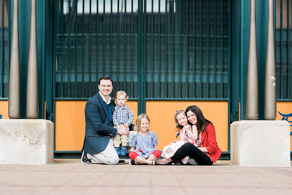 Downtown Detroit Family Session