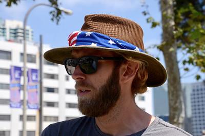 Adam Green interviewing - Labor Day Weekend