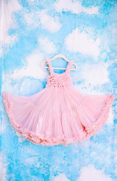Pink Ruffle Child's Dress
