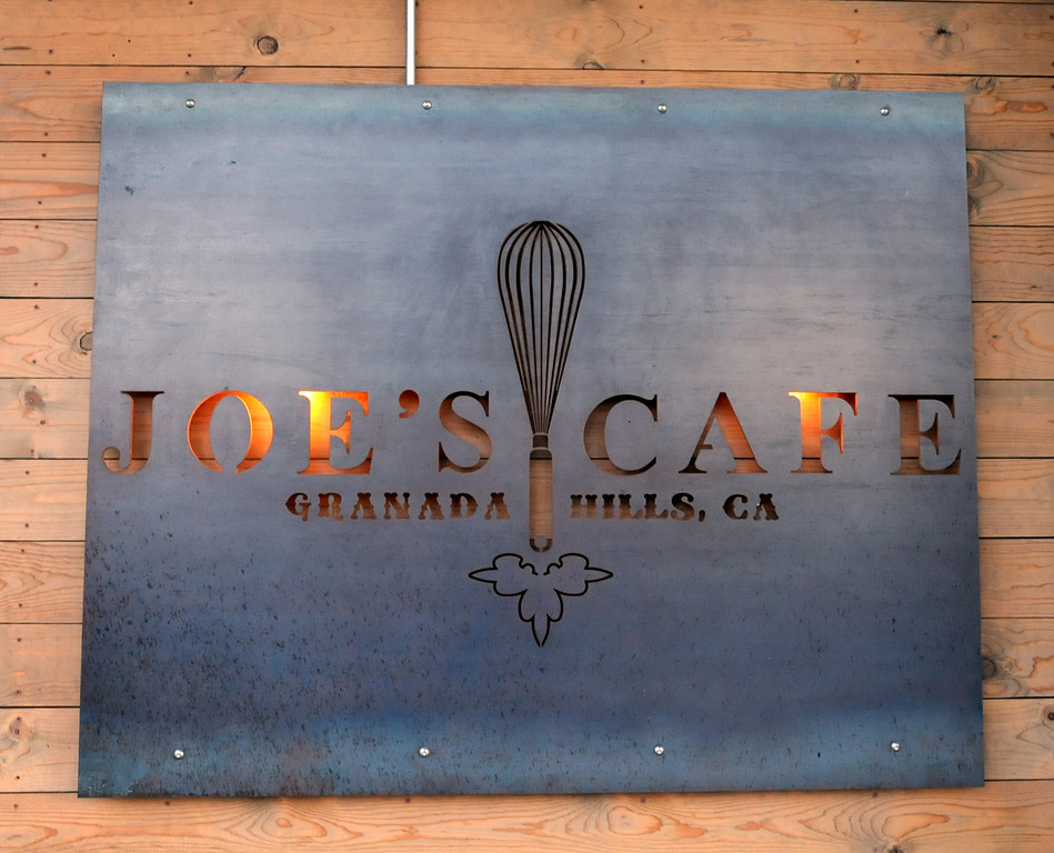 """. Joe\'s Cafe in Granada Hills, CA on Wednesday, March 19, 2014.  Chef and Co-owner Joe Wetherbee won the Food Network\'s \""""Chopped, \""""Dread and Breakfast\"""" episode which aired on Tuesday night.  (Photo by Dean Musgrove/Los Angeles Daily News)"""