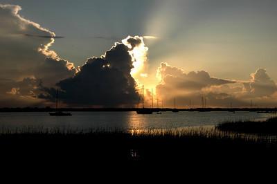 Sunrise in St.Augustine.September 20,2009