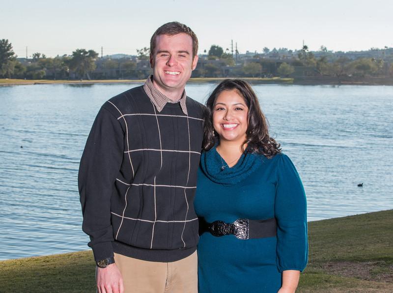 Sean Dewitt and Tina Ortega