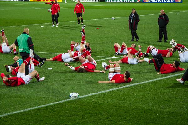South Africa v Wales - RWC 2011